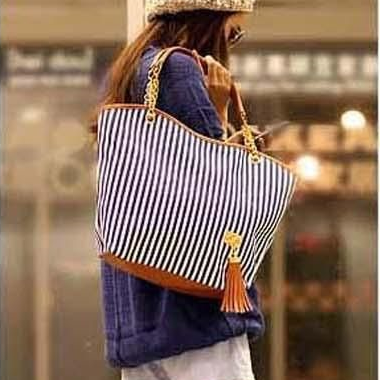 Stripes design pattern canvas woman..