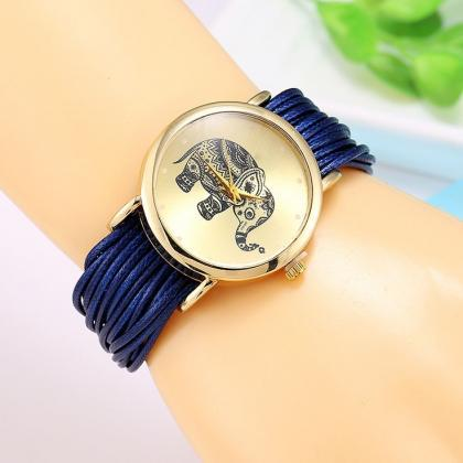 Dress bracelet elephant logo fashio..