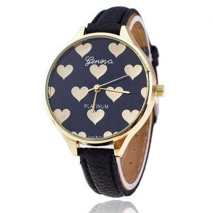 Fashion black hearts love valentine..