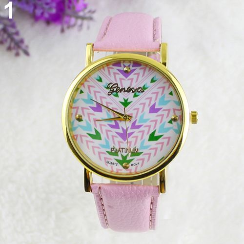 Anchor party teen casual pink girl watch