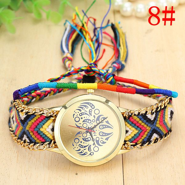 Summer time casual Cloth Strap Party Girl Watch