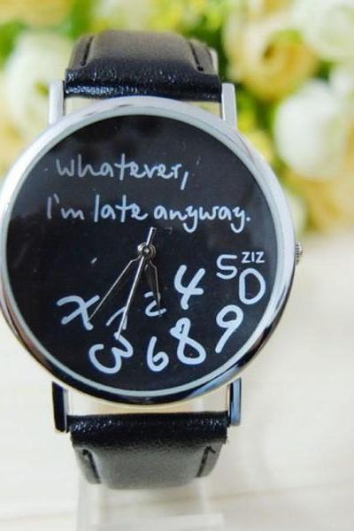 Cool gift for the friends that always late watch