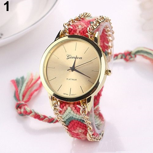 Hippie Cloth Band Unisex Concert Watch