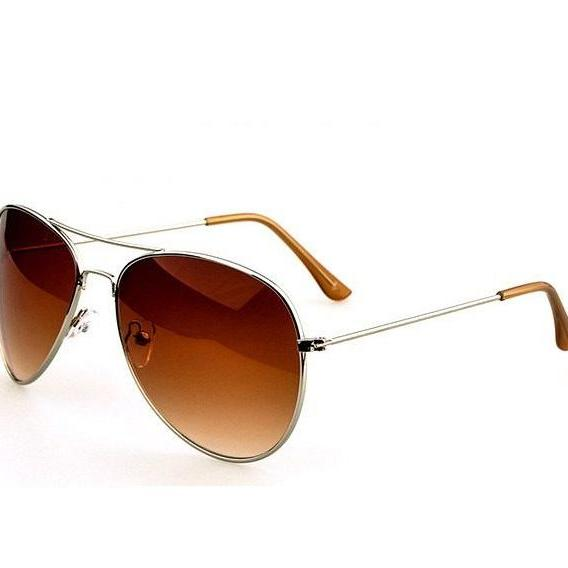 Pilot Summer Fashion Brown Lenses Sunglasses