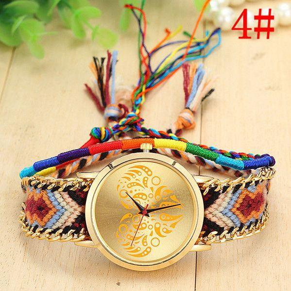 Festival party strap woman hippie watch